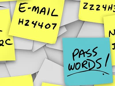 Better way to address passwords